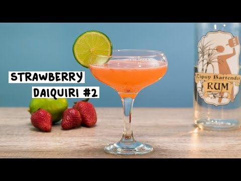 Strawberry Daiquiri #2 - Tipsy Bartender