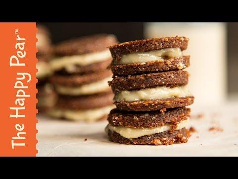 No Bake Oreos - The Happy Pear - Refined Sugar Free