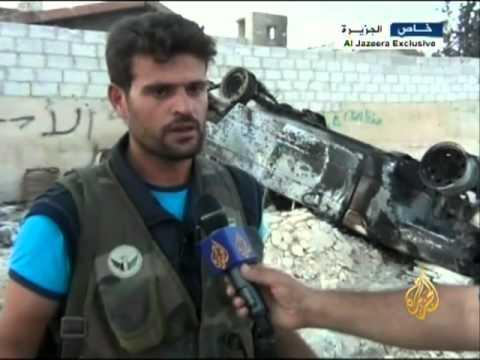 أثار الدمار على مدينة إعزاز بريف حلب
