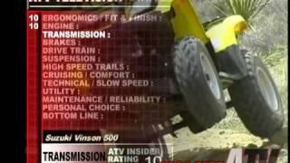 3. ATV Television QuickTest - 2004 Suzuki Vinson 500 4x4