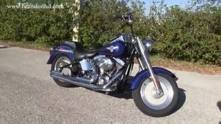 4. 2006 Harley-Davidson Fat Boy for sale Vance& Hines Exhaust