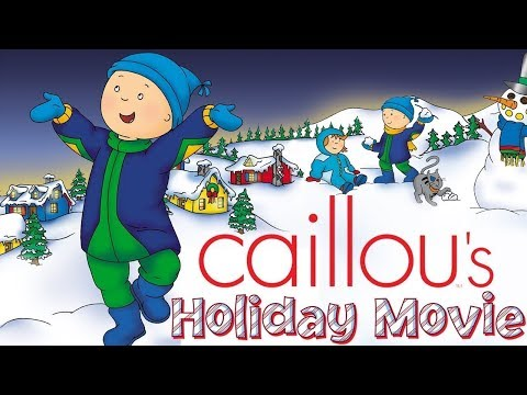 Caillou Holiday Movie | Christmas Cartoons for kids | Funny Animated Cartoon | Caillou Holiday Movie_Legjobb vicces videók