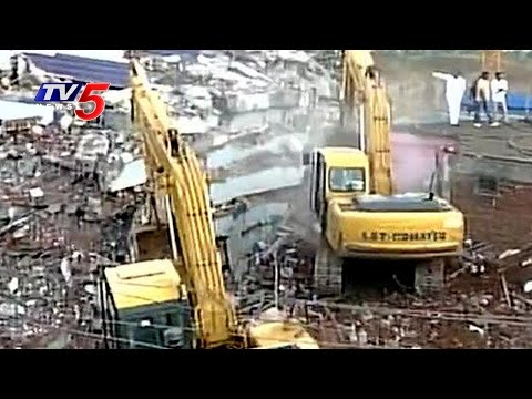 Immediate Action: 2 Higher Officials Suspended in Nanakramguda Building Collapse Issue