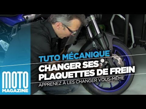 CHANGER SES PLAQUETTES DE FREIN MOTO - TUTO MOTO MAGAZINE
