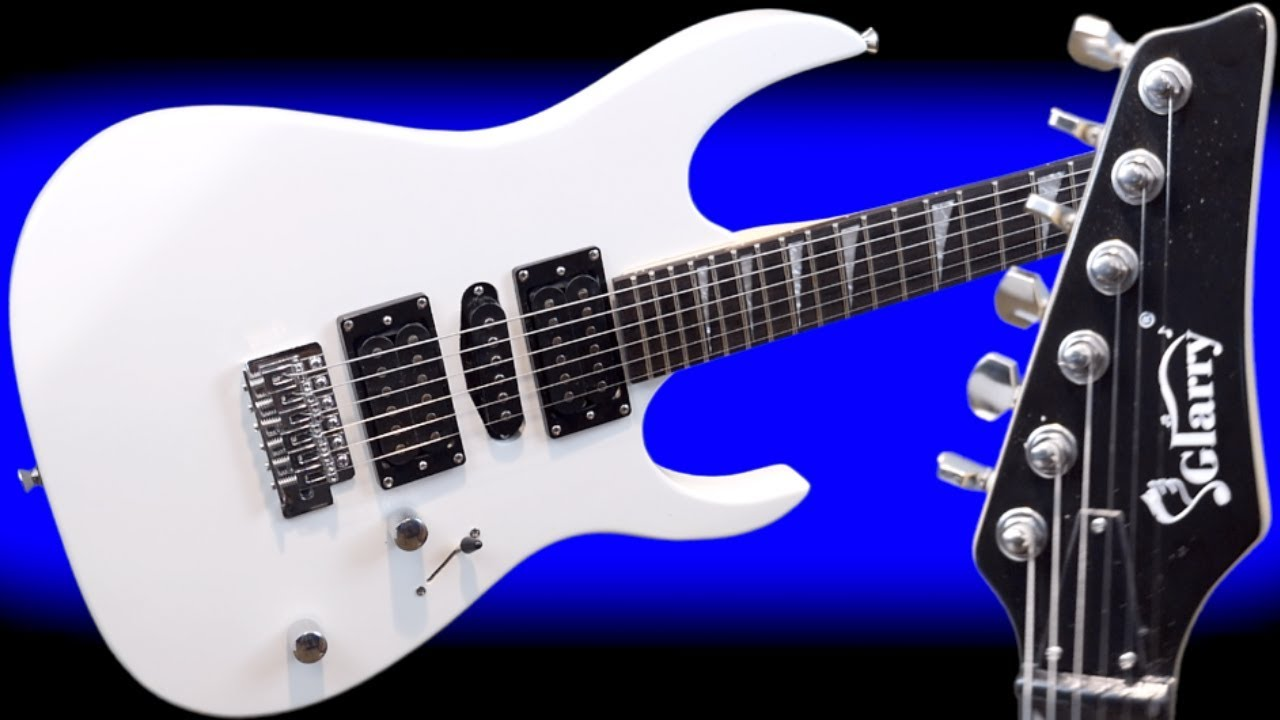 What Does This Look Like to You? | $92 Glarry Model 170 Electric Guitar | Review + Demo