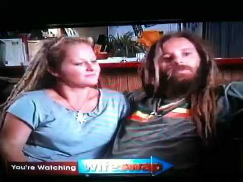 rastafarian - A scene from wife swap when a white family explains there Rastafarian ways!!!!