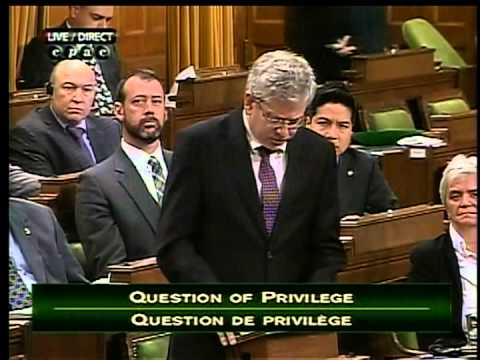 Angus raises question over Harper misleading the House