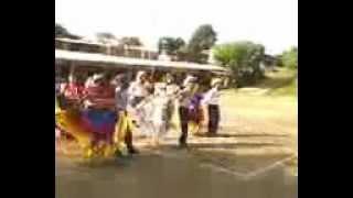 Colegio Santa Clara De Asis Folklor Salvadoreño