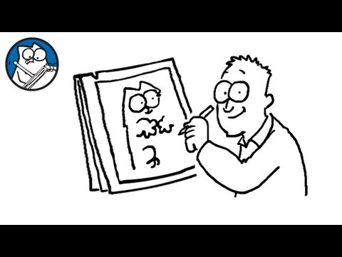 Simon's cat - Simon Draws