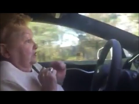 Are You Ready For Self-Driving Cars? This Woman Wasn't [WATCH]