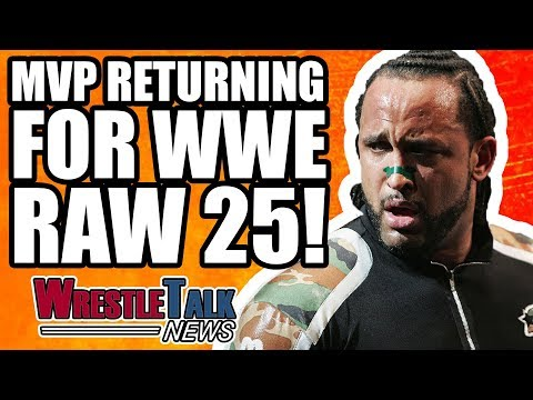 MVP RETURNING To WWE RAW! | WrestleTalk News Jan. 2018