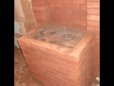 Кирпичные печи для дома на дровах