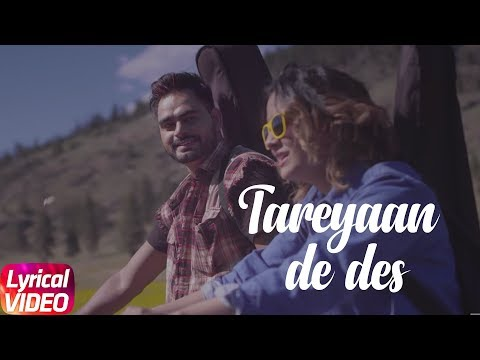 Tareyaan De Des | Lyrical Video | Prabh Gill | Des