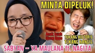 Video Orang Korea Menangis Histeris Ingin Dipeluk Nissa Sabyan (YA MAULANA ft. NAGITA) MP3, 3GP, MP4, WEBM, AVI, FLV Juni 2018