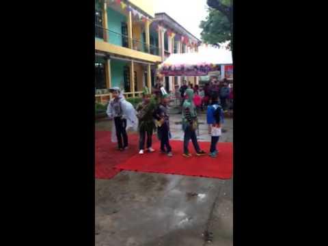 Trình diễn thời trang của các siêu mẫu đáng yêu Trường TH Đa Mai-Bắc Giang
