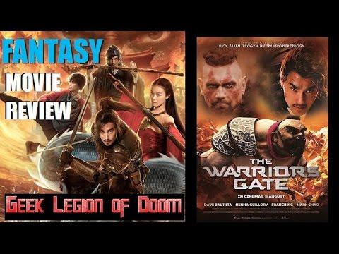ENTER THE WARRIOR'S GATE (  2016 Dave Bautista ) aka 勇士之門 Fantasy Movie Review
