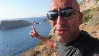 Syros Greece  city pictures gallery : Syros Greece dolphin beach - the hike part 2