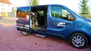 Jeřábek zavazadlový Carolift 6900 001 ve voze OPEL Vivaro-B
