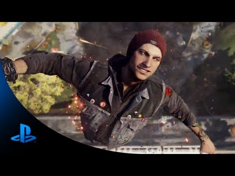 infamous second son playstation 4 game