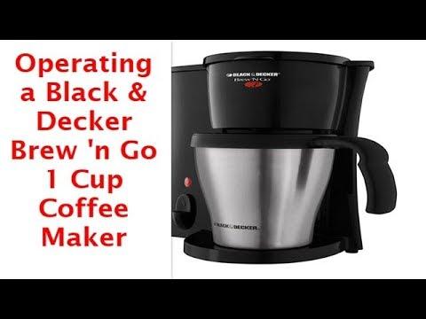 Black & Decker Brew N Go Personal CoffeeMaker