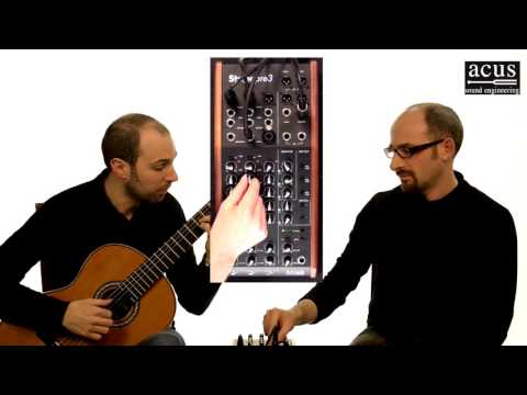 Acus Stage Pre3 - Demo by Bruskers Guitar Duo