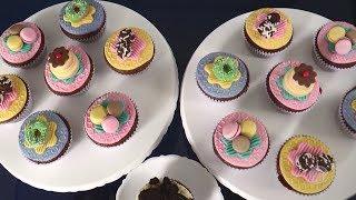 Aprenda a Fazer CupCake em Casa - Visita Record