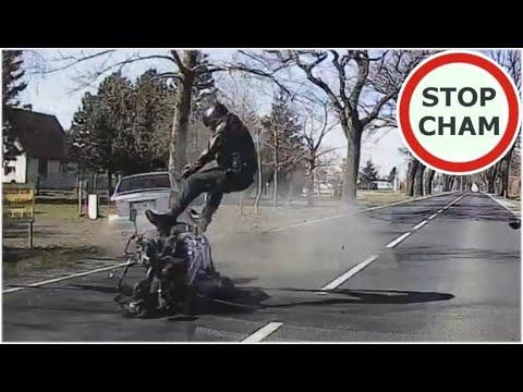 Wypadek motocyklisty w Borkowie