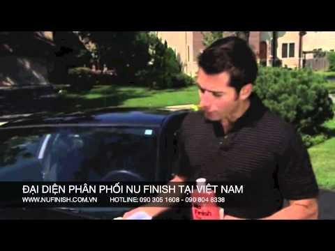 Đánh bóng xe hơi (ô tô) cực nhanh với Nu Finish Car Polish