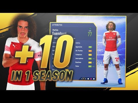 FIFA 19 CAREER MODE - GROWTH TEST! CAN YOU GROW A PLAYER BY +10 OVR IN 1 SEASON?