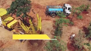Transplantar Tree inova em tecnologia de reflorestamento.