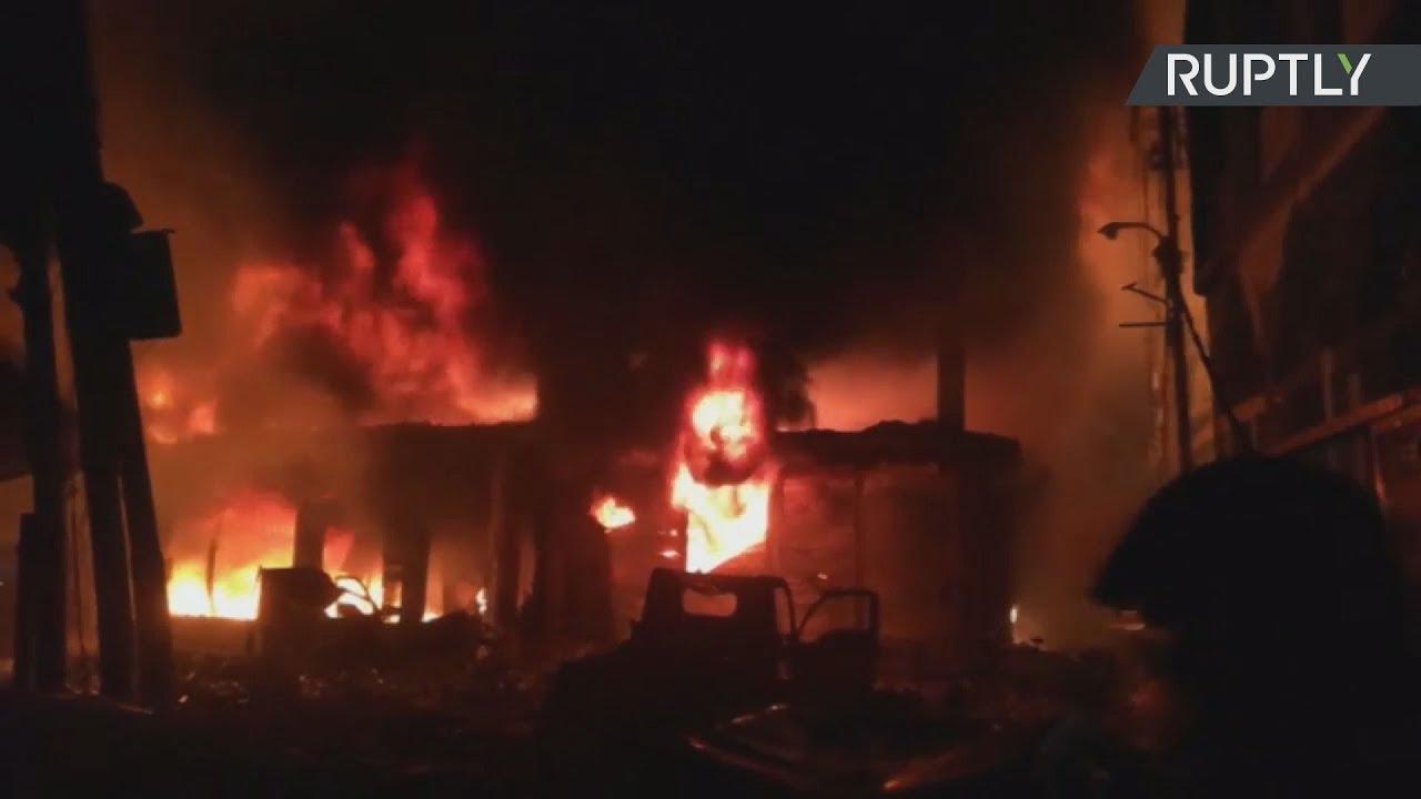Τουλάχιστον 70 νεκροί από πυρκαγιά σε πολυκατοικία, στο Μπανγκλαντές
