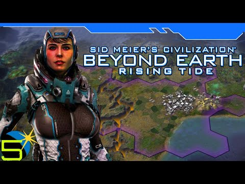 Civilization: Beyond Earth Rising Tide - Allies and Allegiance - Ep 5 Gameplay