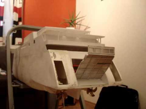 Model RC ferry