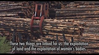 What are the impacts of resource extraction on women?