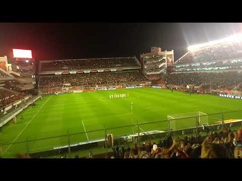 Recibimiento Independiente 0 vs Lanús 1 - La Barra del Rojo - Independiente