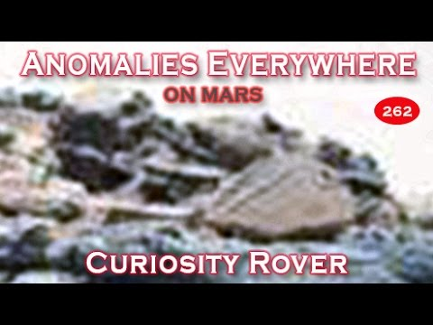 Anomalies Everywhere In NASA's Curiosity Rover SOL 707 Image Of Mars!