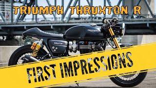 10. 2017 Triumph Thruxton R - First Impresssions