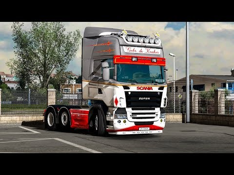 Lepidas Scania Crackle V8 Sound 1.31.x