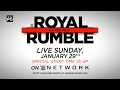 Dont miss WWE Royal Rumble 2017  Live Sunday Jan 29 waptubes