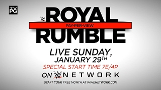Nonton Don't miss WWE Royal Rumble 2017 – Live Sunday, Jan. 29 Film Subtitle Indonesia Streaming Movie Download
