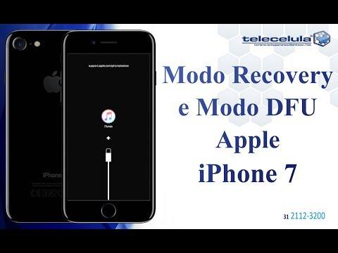 Como Acessar o Modo DFU e Recovery no iPhone 7 e 7 plus - TELECELULA