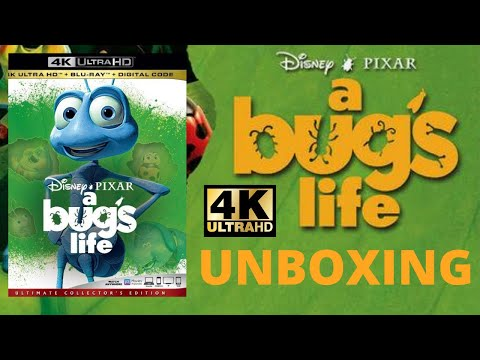 A Bugs Life 4K Blu-Ray Unboxing