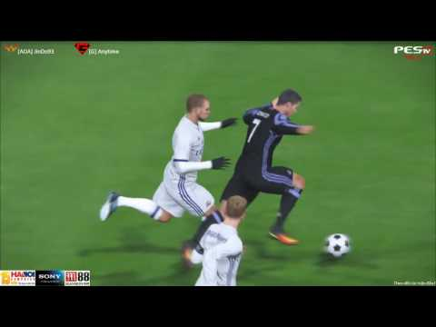 [PES 2017] All Out Attack vs GameTV | War Team | 8/10/2016