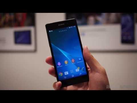 Sony Xperia Z2首次亮相MWC 2014初發表實機開箱影片