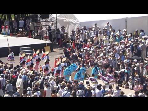 徳島文理大学連 流し踊り ~四国の祭り2017~