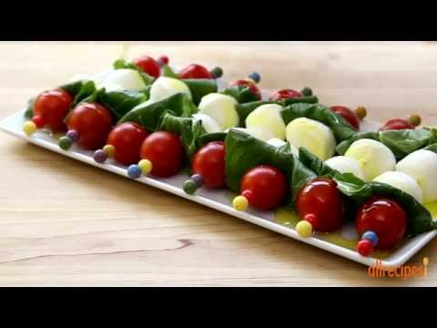Salad Recipes – How to Make Caprese on a Stick