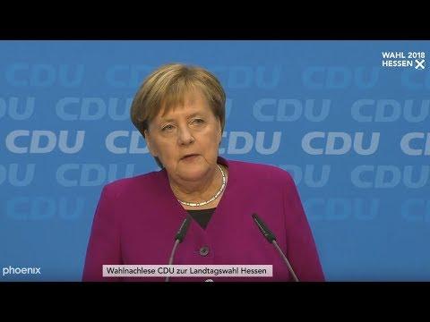 Kanzlerin Angela Merkel verzichtet auf den CDU-Vorsit ...