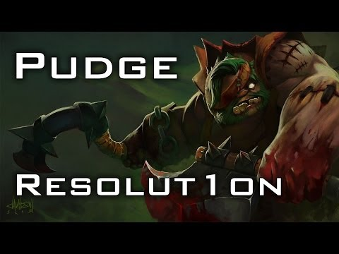 Resolut1on Pudge + Io Duo | Dota 2 gameplay