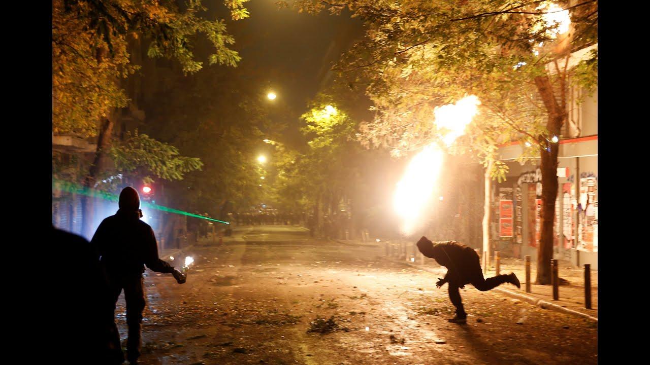 Live: Επεισόδια σε Αθήνα και Θεσσαλονίκη