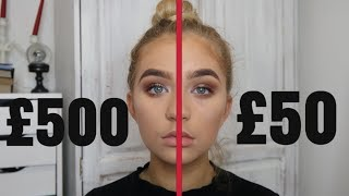 Video FULL FACE OF DRUGSTORE vs HIGHEND MAKEUP TUTORIAL MP3, 3GP, MP4, WEBM, AVI, FLV Juli 2018